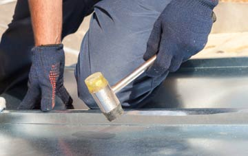 Kettletoft metal flat roofing repairs